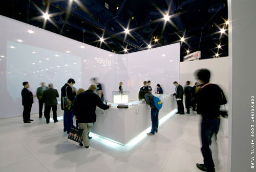 iriver booth at CES 2008