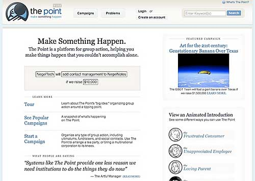 The Point: Making Something Happen